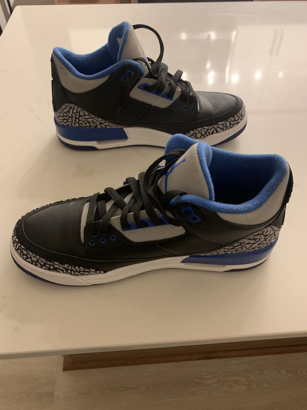 Jordan Sport Blue 3s