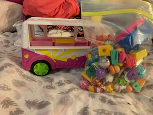 Shopkins car and toys. for Sale in Medley, FL