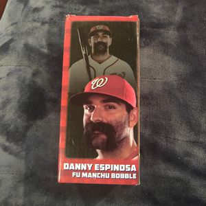 Washington Nationals Danny Espinosa Fu Manchu bobblehead for Sale in Hillcrest Heights, MD