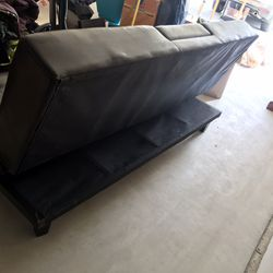Leather Recliner futon drink holder for Sale in Mukilteo,  WA