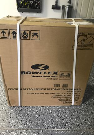 Brand new sealed in box Bowflex select tech 552-2 dumbbells total for Sale in Oviedo, FL