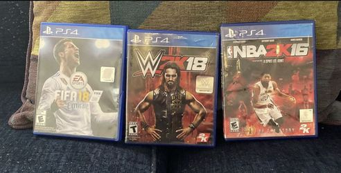 3 Ps4 Games Used In Good Condtion  for Sale in Aurora, CO