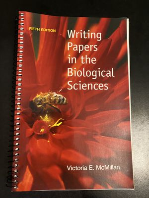 Writing Papers in Biological Sciences McMillan for Sale in Ithaca, NY