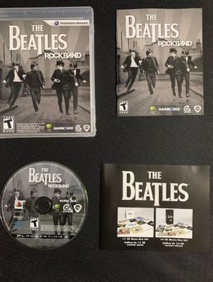 Beatles rock band ps3 for Sale in Miami, FL