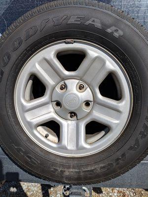07 jeep wrangler spare tire for Sale in Columbia, TN