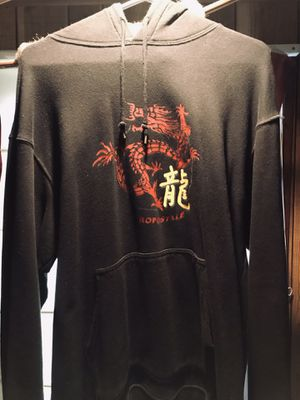 Men's large dragon pull over hoodie jacket for Sale in Medford, MA