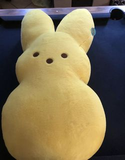 """PEEPS Jumbo 38"""" Plush YELLOW Marshmallow Easter Bunny SOLD OUT NEW 2021 for Sale in San Mateo,  CA"""