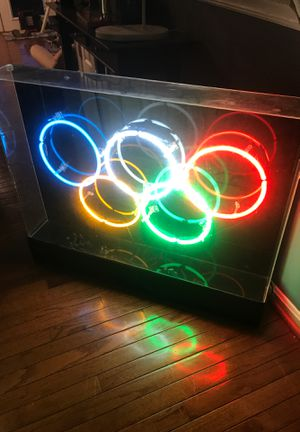 Olympic neon sign for Sale in Fairfax, VA