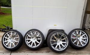 22 inch Rims and Tire for Sale in CARNES CROSSROADS, SC