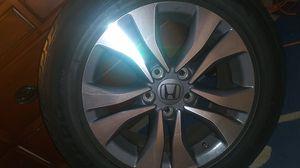 2015 honda accord lx all 4 rims + tires for Sale in Boston, MA