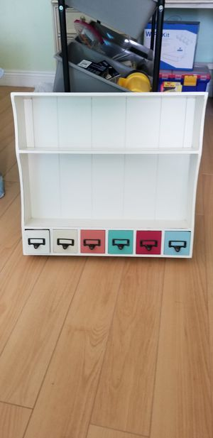 Wall SHELVES MINI CABINETS BEACH NAUTICAL UNITED COLORS OF MODERNITY for Sale in Torrance, CA