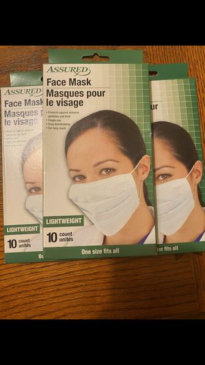 Germ deterrent mask for Sale in Ontario, CA