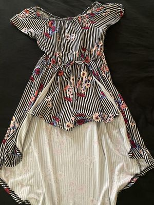 Beautiful flower dress for girls size 7 great condition for Sale in North Las Vegas, NV