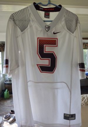 Virginia Tech Football Jersey, #5, M for Sale in Fort Defiance, VA