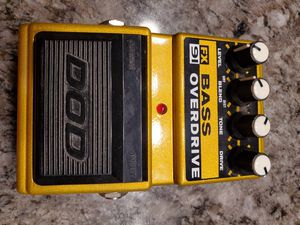 DOD FX 91 BASS DISTORTION hard to find AS IS NO CORD $55 for Sale in Clovis, CA