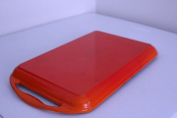 Le Creuset Rect Flame Orange Skinny Stove Grill