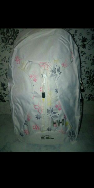 Authentic Helly Hansen White Aden Backpack for Sale in Phoenix, AZ