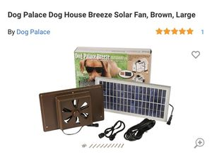 Dog house solar fan for Sale in Las Vegas, NV