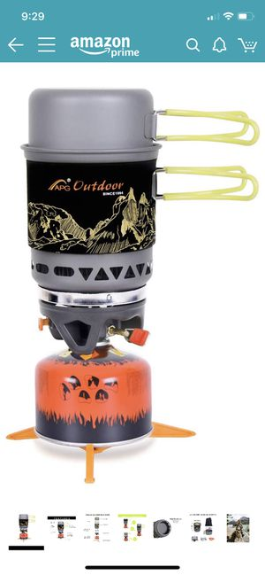 Brand new 2-in-1 Backpacking Camping Stove for Sale in Cave Creek, AZ