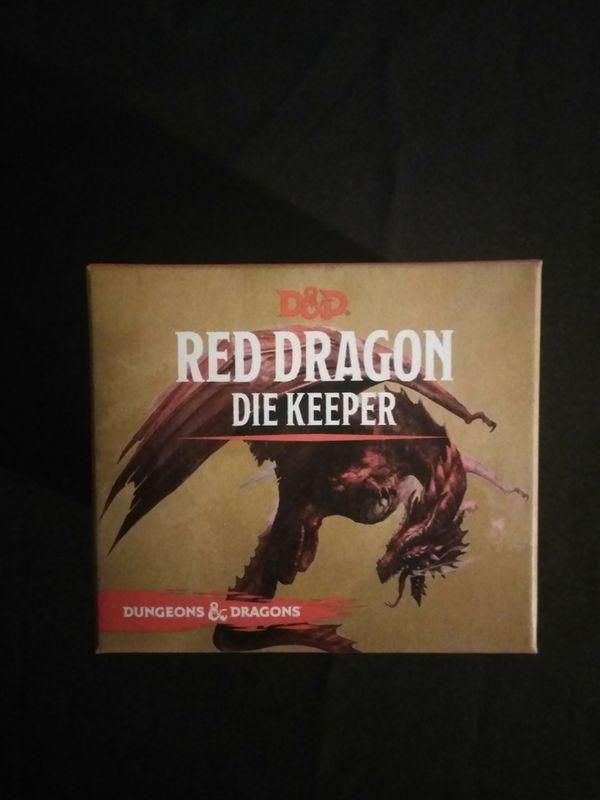 Red Dragon Die Keeper