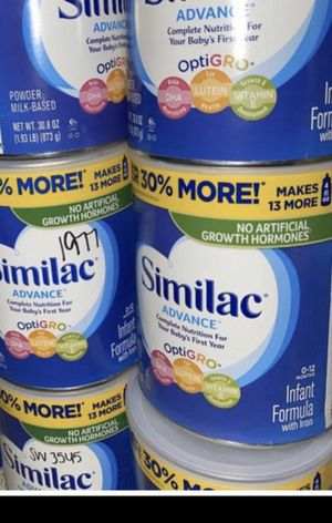 5 cans Similac Advance 30.8oz Exp 2021 for Sale in Seattle, WA