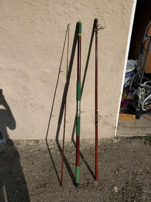 3 peice fishing pole (Offer me a price) for Sale in Huntington Beach, CA