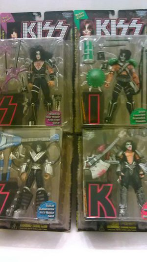 """K I S S Ultra Action Figures..... Paul, Peter, Ace and Gene - """"The Kiss"""" for Sale in Providence, RI"""