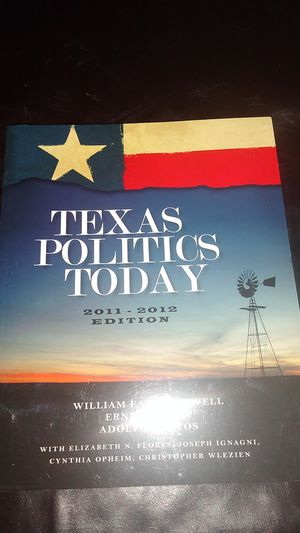 TEXAS POLITICS TODAY TEXTBOOK for Sale in KINGSVL NAVAL, TX