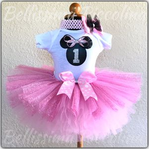 Minnie Mouse Tutu Birthday Outfit 12 months. for Sale in Clermont, FL