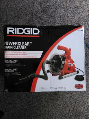 Brand New Ridgid Powerclear Drain Cleaner for Sale in Los Angeles, CA