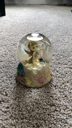 Walt Disney precious moments musical snow globe for Sale in Gig Harbor, WA