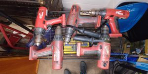 Milwaukee 18v drills $10 each for Sale in Canonsburg, PA