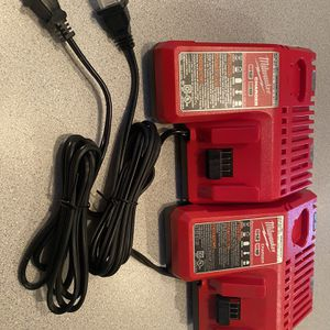 Milwaukee charger m18/m12 new never used for Sale in Lombard, IL