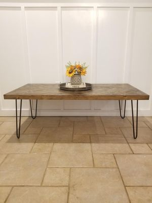 Chevron Coffee Table - Kids Activity Table for Sale in Collinsville, OK