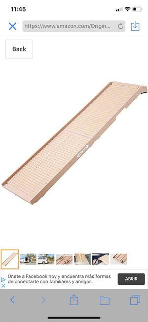 PetSTEP Original Folding Pet Ramp. Dimension. Open: 70 L x 17 W x 2.5 H inches Folded: 36 L x 17 W for Sale in Dallas, GA