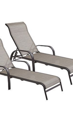 POOL SIDE LOUNGE CHAIRS SET OF 5 for Sale in Orlando, FL