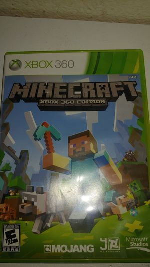 Minecraft Xbox 360 for Sale in Fontana, CA