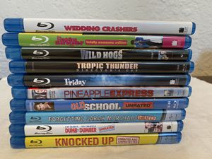 Comedy Blu Ray Lot for Sale in Fresno, CA