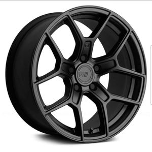 "17"" & 18"" Motegi MR 133 in satin black, silver & gold wheel rim & tire packages available! for Sale in Tempe, AZ"