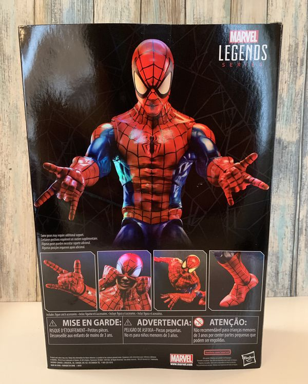 Marvels Legend Series 12 inch Spider-Man Collectible Action Figure