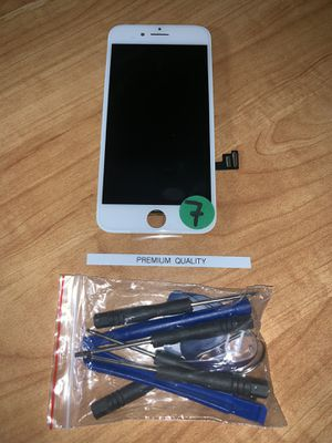 New iPhone 7 LCD Screen White for Sale in San Fernando, CA