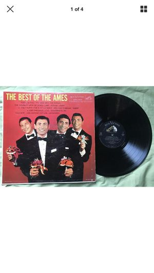 Ames Brothers The Best of the Ames LP RCA Victor HiFi 1958 EX for Sale in Portland, OR