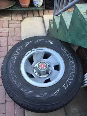 Two F150 Rims with Tires for Sale in Long Beach, CA