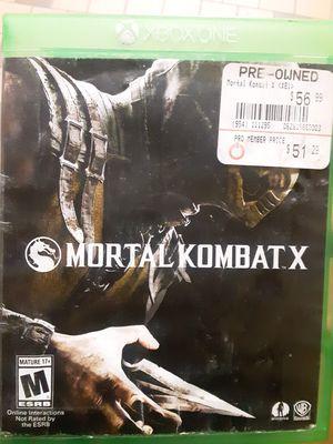 Mortal kombat X for Sale in FAIRMOUNT HGT, MD