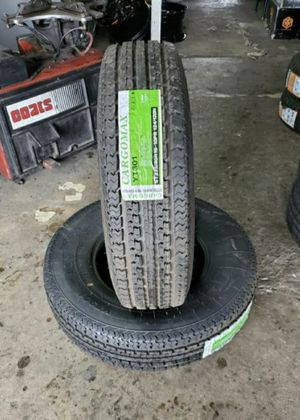 235/80/16 NEW TRAILER TIRES 10PLY FOR $120 EACH with balance and installation {contact info removed} Dorian 7637 airline dr houston TX 77037 for Sale in Houston, TX
