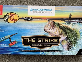 New Bass Pro Shops The Strike: Championship Edition for Nintendo Switch for Sale in Lynnwood,  WA