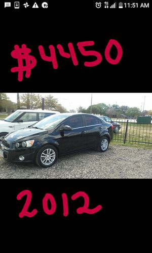 2012 Chevy Sonic $4450 for Sale in Lytle, TX