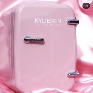 Kylie Skin By Kylie Jenner limited Edition Mini Pink Fridge for Sale in Falls Church, VA