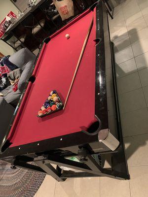 Harvard flip pool table/ air hockey table for Sale in Lincoln, RI