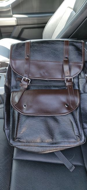 Nice Faux leather laptop bag, rucksack, backpack. for Sale in Louisville, CO